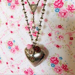 Jewelry - Artisan Necklace with Vintage Elements
